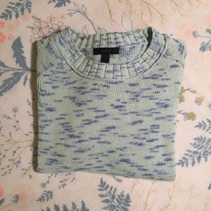 Blue J Crew Knit Sweater